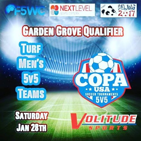 Calling All Mens 5v5 Soccer Teams in SoCal! F5WC Gardenhellip