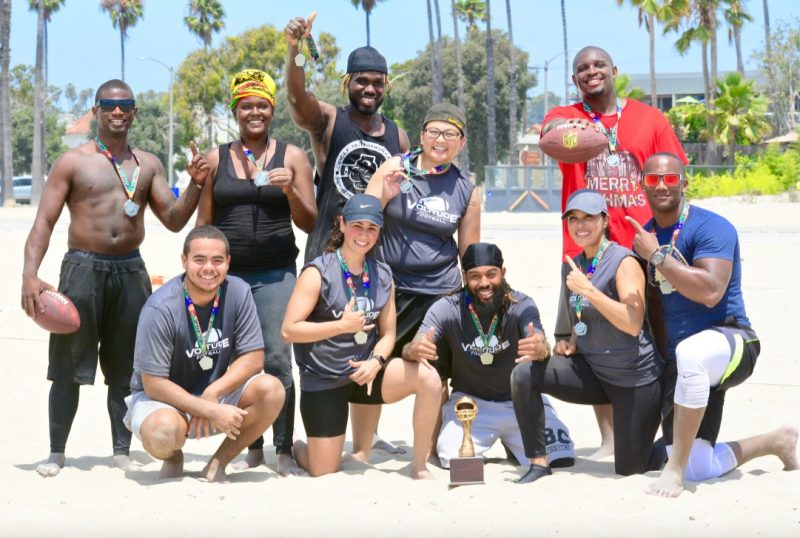 reserve your team spot flag football league Long Beach CA